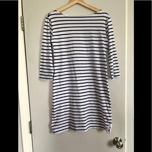 Vineyard Vines Cotton Shift Dress Striped Sz XS